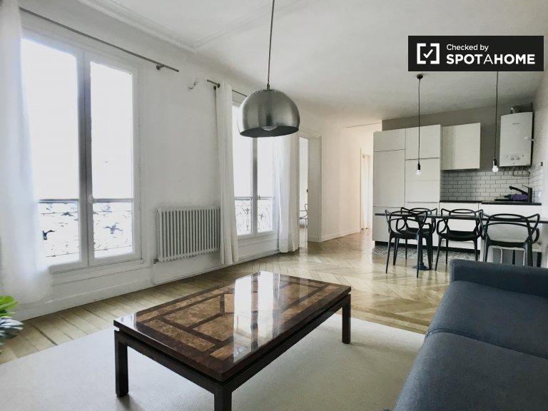 Apartamento com 1 quarto para arrendar no 16º arrondissement de Paris