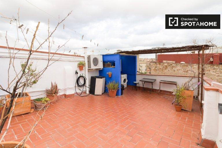 Appartement central de 1 chambre à louer à El Raval, Barcelone