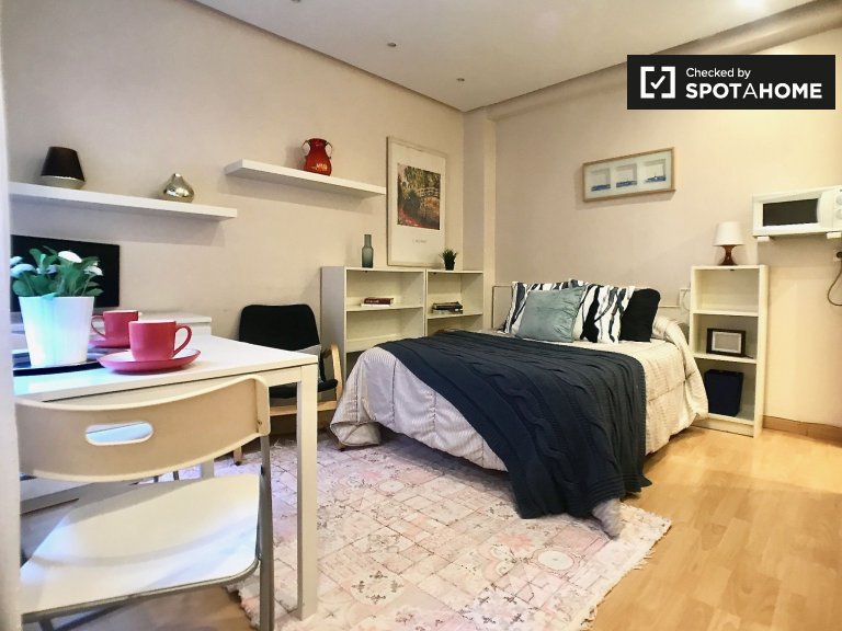 Stilvolles Studio-Apartment zur Miete in Salamanca, Madrid