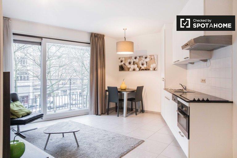 Apartamento estúdio para alugar em Quartier des Quais, Bruxelas
