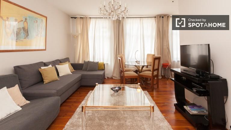 Stylowe 1-pokojowe mieszkanie do wynajęcia - Brussels City Centre