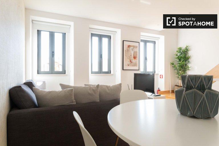 Favoloso appartamento con 1 camera da letto in affitto ad Ajuda, Lisbona