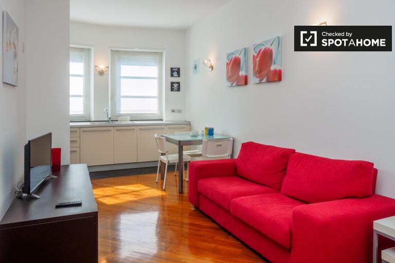 appartement 1 chambre avec balcon à louer à Bullona, Milan