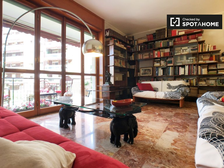 2-bedroom apartment for rent in Porta Venezia, Milan