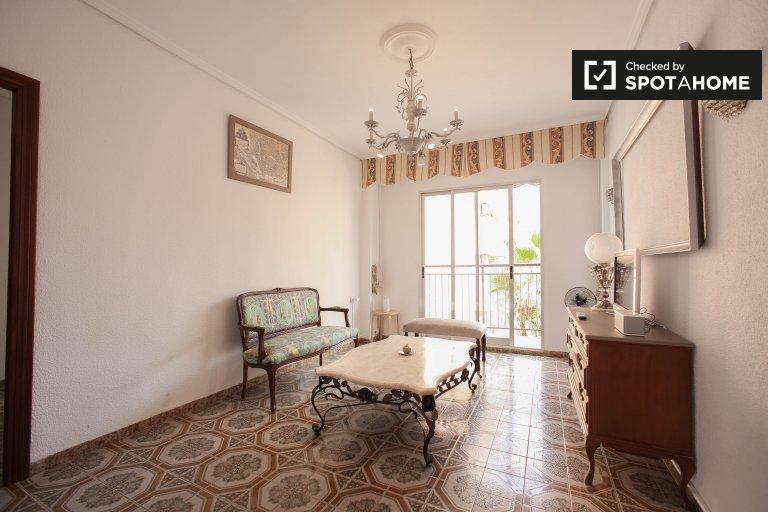 Campanar, Valencia'da kiralık 3 odalı güzel daire