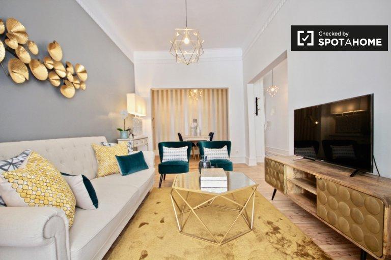Apartamento de 2 quartos Premium para alugar em Arroios, Lisboa