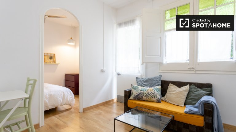 1-bedroom apartment for rent in Floresta, Barcelona