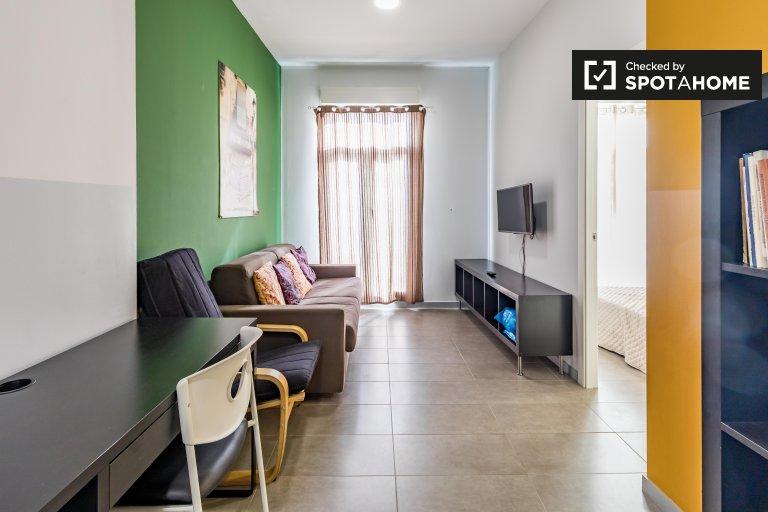 2-Zimmer-Wohnung zur Miete in Poblats Marítims, Valencia