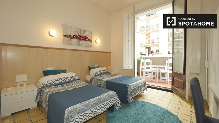 El Raval, Barcelona kiralık 2 yatak odalı daire