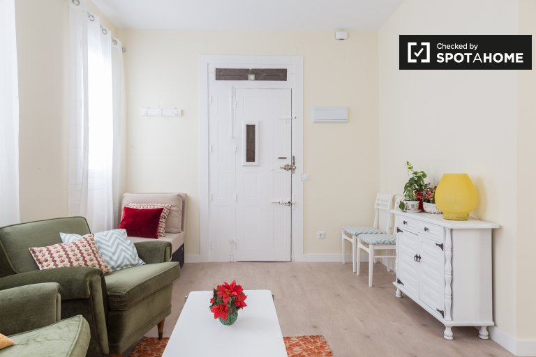 Cosy 1-bedroom apartment for rent in Madrid