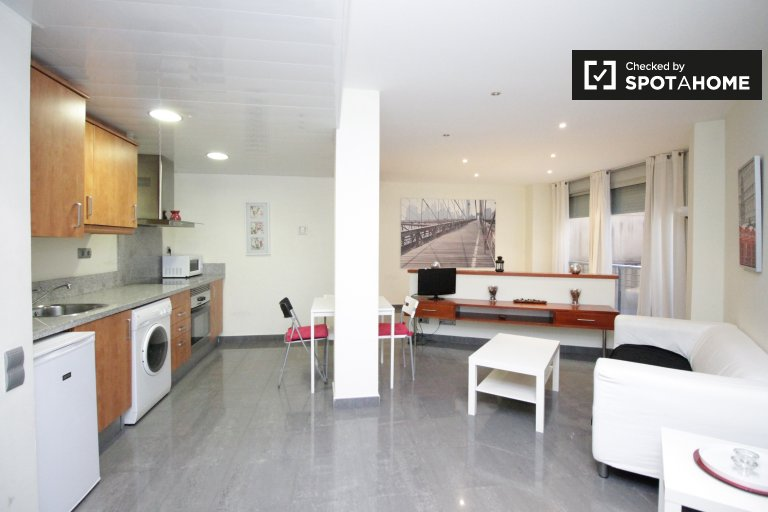 Grazioso monolocale in affitto a El Raval, Barcellona