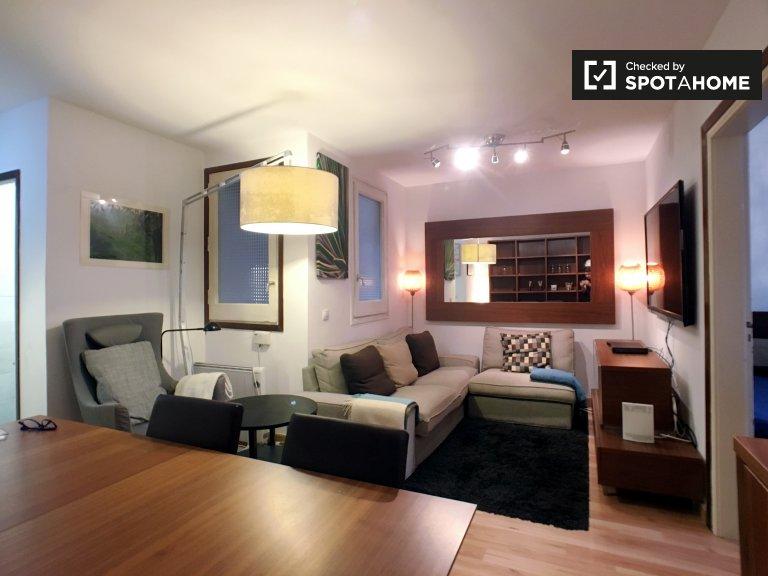 Apartamento de 2 quartos para alugar em Eixample Dreta, Barcelona