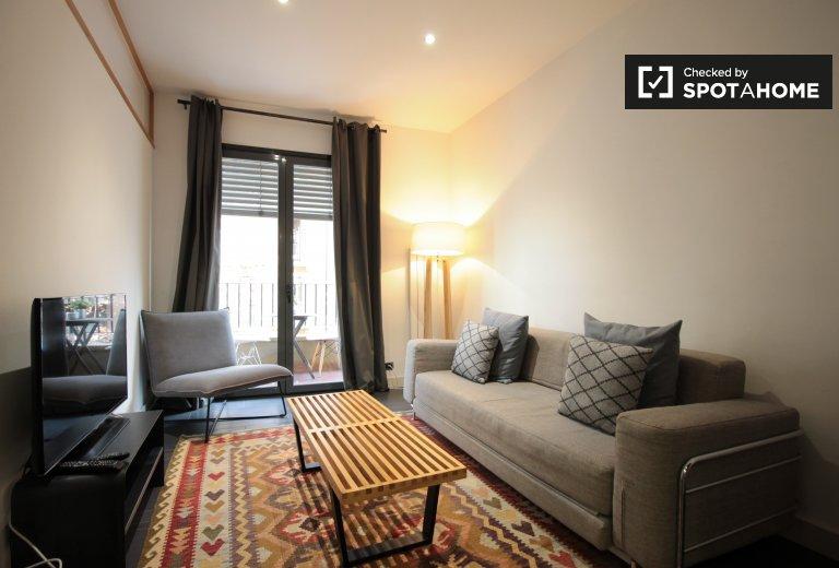 Incrível apartamento de 2 quartos para alugar em Sarrià-Sant Gervasi