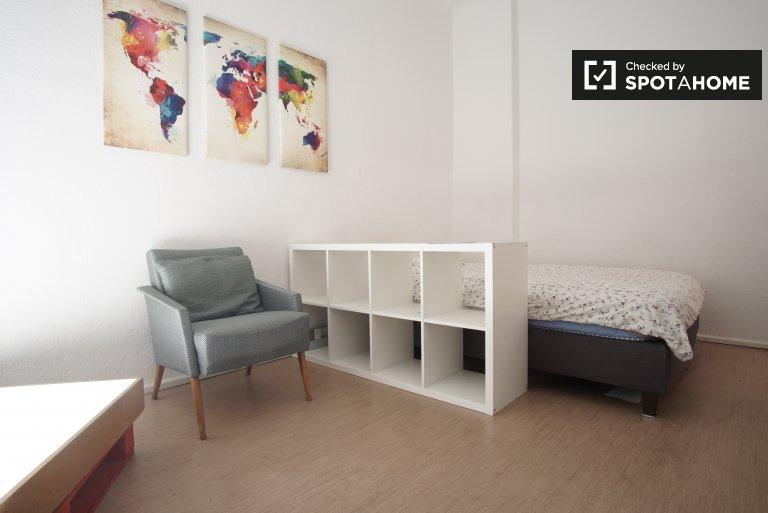 Apartamento amueblado de 1 dormitorio en alquiler en Neukölln, Berlín