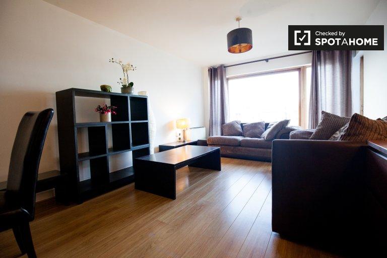 Zwei-Zimmer-Wohnung zur Miete in Silicon Docks, Dublin