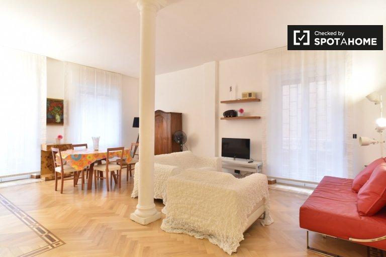 Bel appartement de 3 chambres à louer à Aurelio, Rome