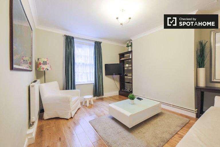 Appartamento con 1 camera da letto in affitto a Marylebone, Londra
