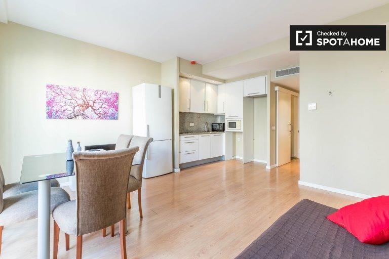Apartamento de 1 quarto espaçoso para alugar em Extramurs, Valência