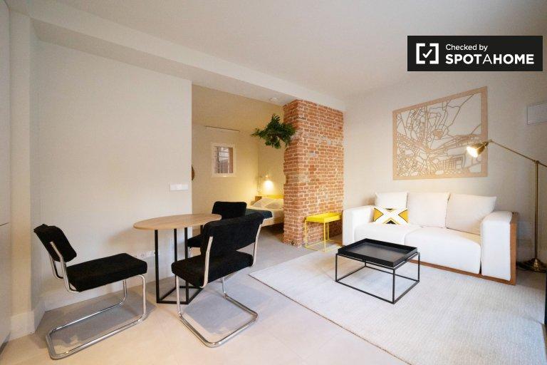 Renoviertes Studio-Apartment zu vermieten in San Blas, Madrid