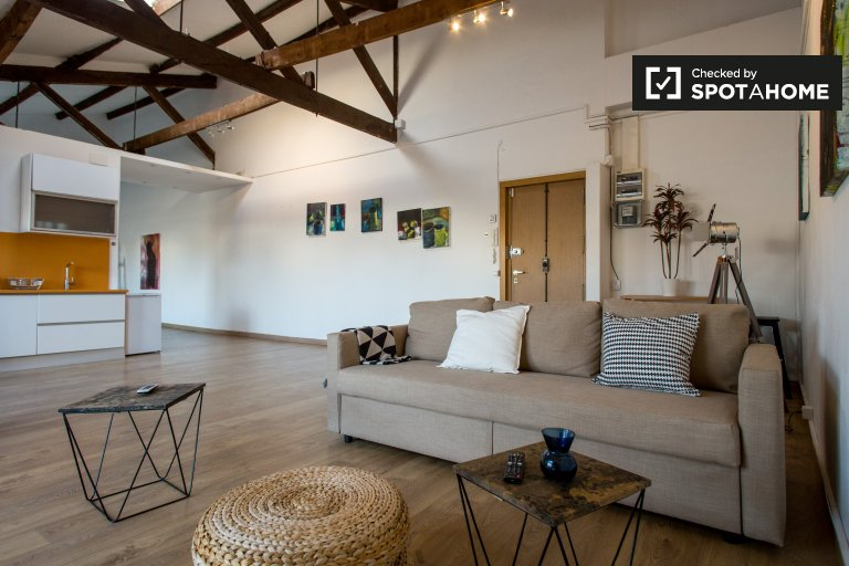 Studio apartment for rent in Poblenou, Barcelona