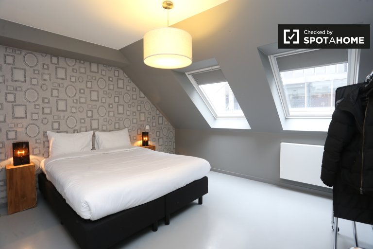 Fashionable 2-bedroom apartment in Brussels City Center