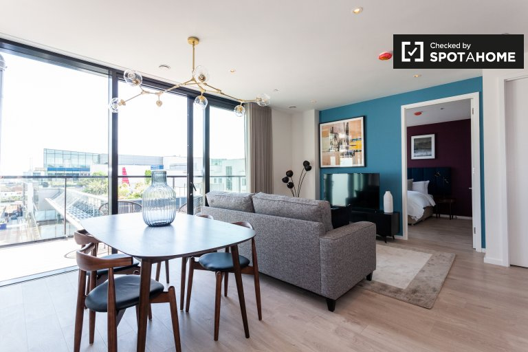 1-bedroom apartment for rent in Grand Canal Dock, Dublin