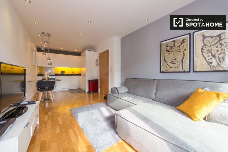 Nowoczesne 1-pokojowe mieszkanie do wynajęcia w Southwark, Londyn