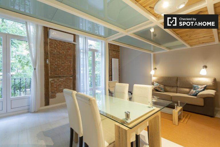 Elegante appartamento con 1 camera da letto in affitto a Trafalgar, Madrid
