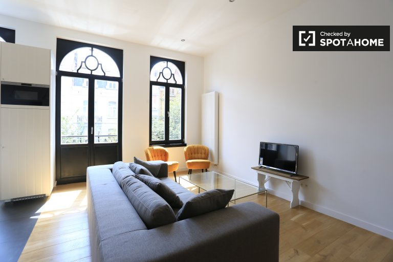 Lovely 2-bedroom apartment for rent in Schaerbeek, Brussels