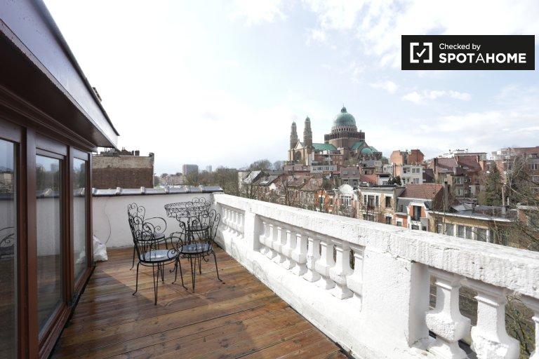 Studio apartment for rent in Ganshoren in Brussels