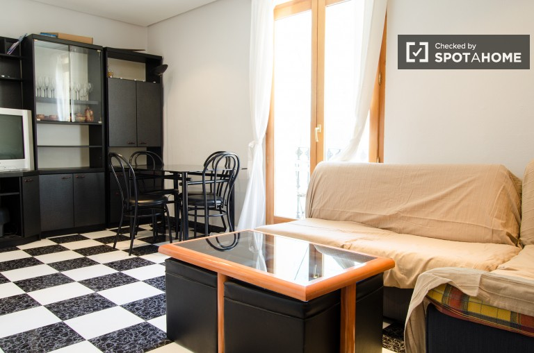 Charming one bedroom apartment with a balcony in Ciutat Vella