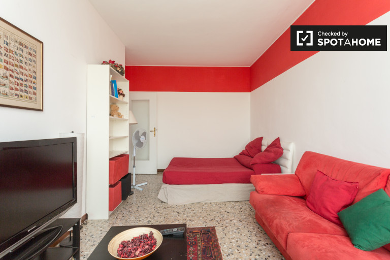 3-bedroom apartment for rent in San Siro, Milan