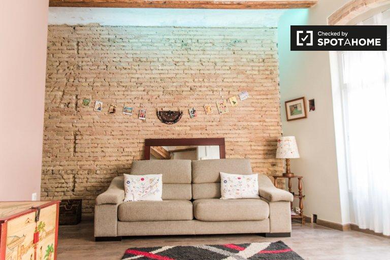 Elegancki 1-pokojowy apartament do wynajęcia w L'Eixample, Walencja