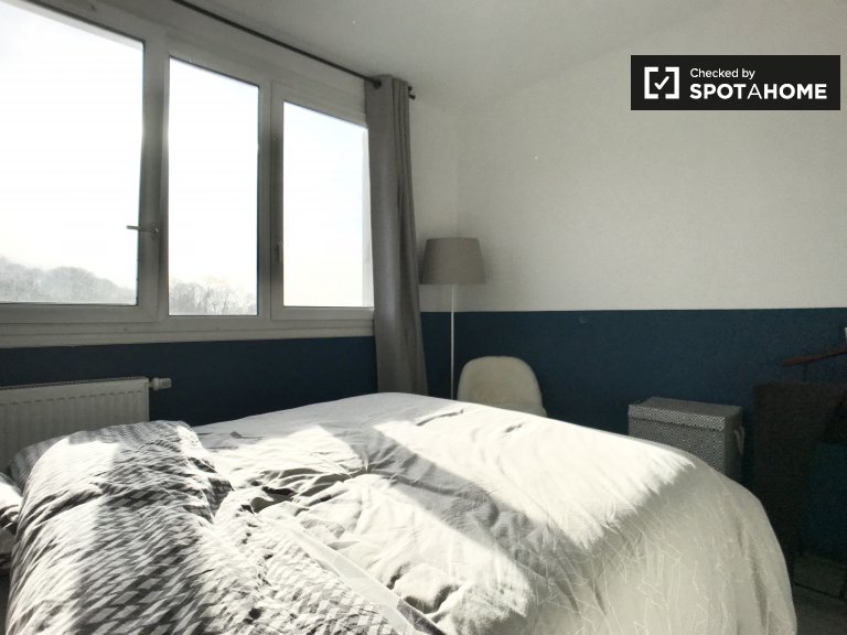 Bright room for rent in 2-bedroom apartment in Montreuil