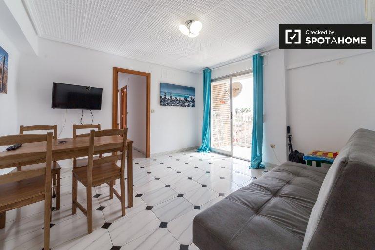 3-pokojowe mieszkanie do wynajęcia w Poblats Marítims