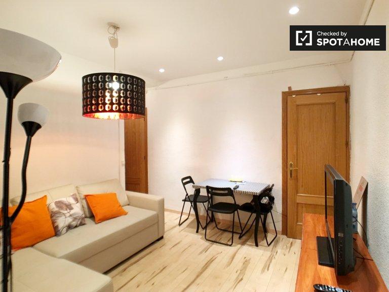 Klassische 3-Zimmer-Wohnung zur Miete in Atocha, Madrid