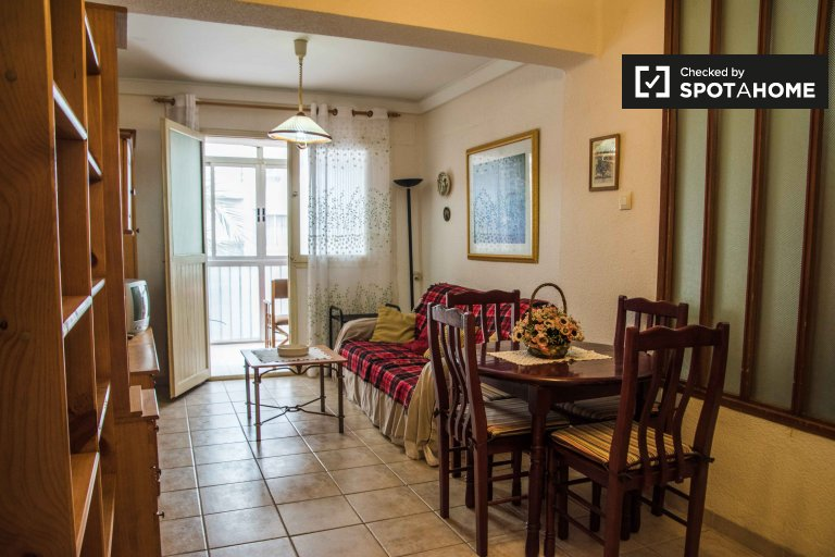 1-bedroom apartment for rent in Jesús, Valencia