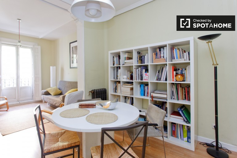 1-bedroom apartment for rent in Retiro, Madrid