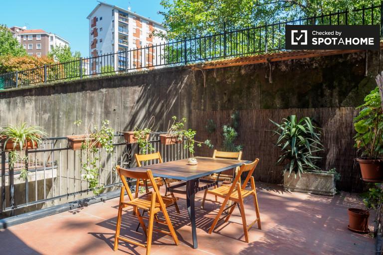 Giambellino, Milano'da kiralık şık stüdyo daire