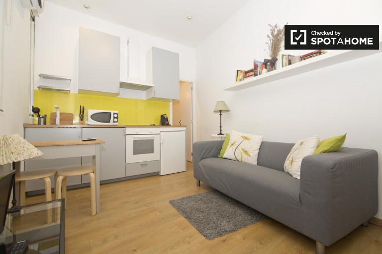 Piękny 1-pokojowy apartament do wynajęcia w Madrycie