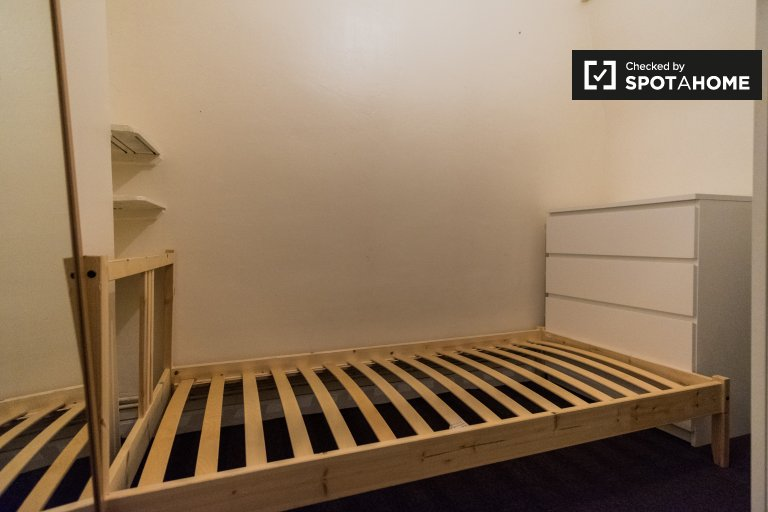 Spokojny pokój do wynajęcia, 4-pokojowe mieszkanie, Lambeth