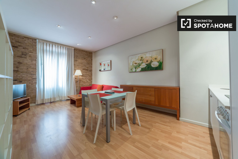 Spacious 1-bedroom apartment for rent in Ciutat Vella