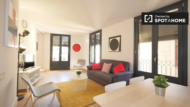 Modern 2-bedroom apartment for rent Barri Gòtic, Barcelona