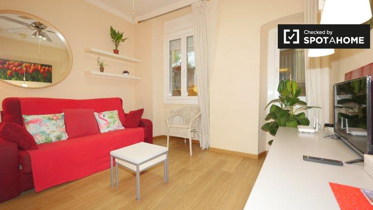 Elegancki 2-pokojowy apartament do wynajęcia w El Born, Barcelona