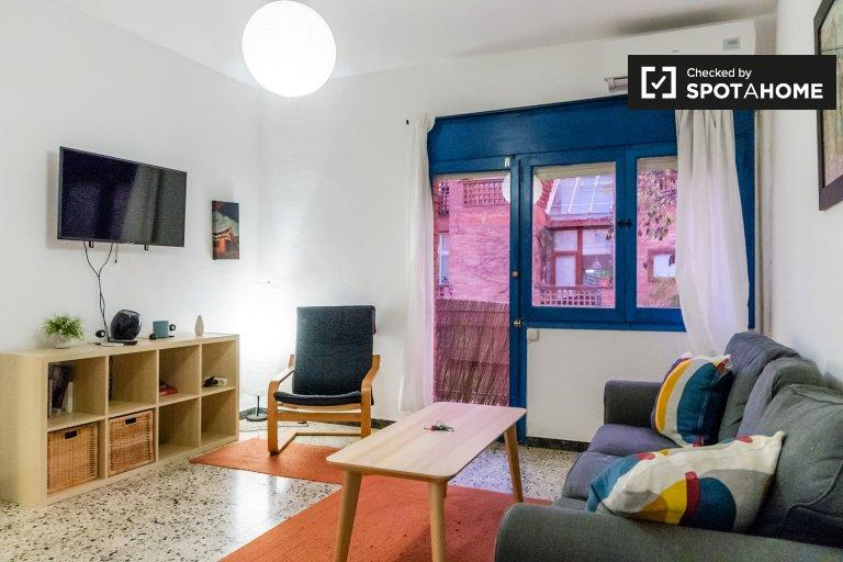Apartamento tranquilo de 2 quartos para alugar em Guinardó, Barcelona