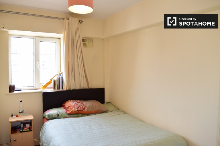 Double Bed in Rooms for rent in a 4-bedroom apartment with balcony in the city center - Saint Stephens Green