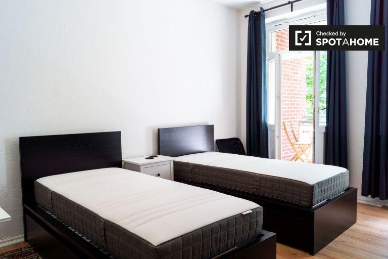 Pokój w apartamencie z 3 sypialniami w Schöneberg, Berlin