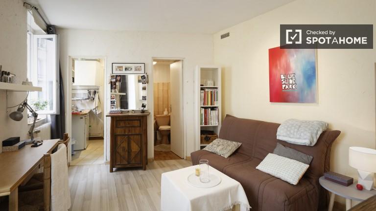 apartamento estudio fantástico en alquiler en Montmartre - París