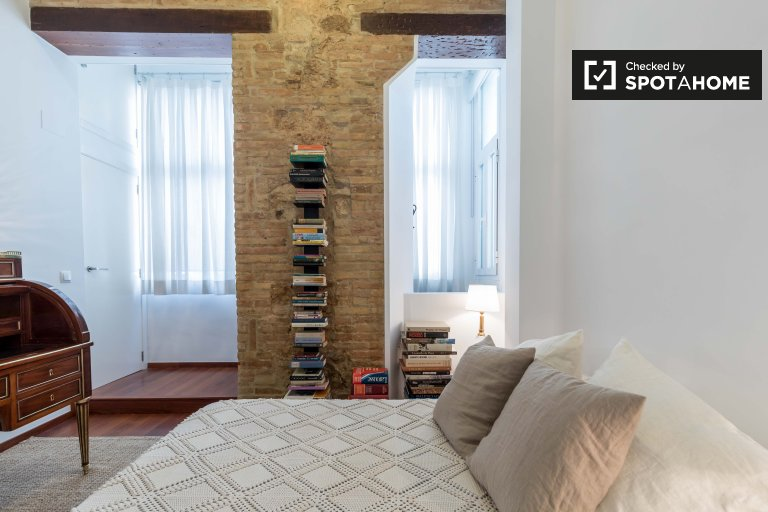 Camera doppia in affitto, appartamento con 2 camere da letto, L'Eixample
