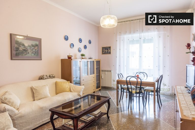 2-bedroom apartment for rent in Monteverde, Rome